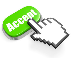 Accept button